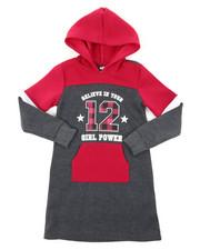 Dresses - Fleece Sweatshirt Dress (7-16)-2394396