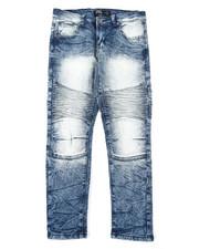 Arcade Styles - Moto Denim Stretch Jeans (8-18)-2393199