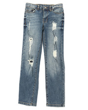 Buffalo - 5 Pkt Denim Evan Slim Straight Fit Jeans (8-16)-2394864