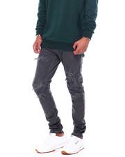 Buyers Picks - Garment Dye Stretch Jean with Rips-2394136