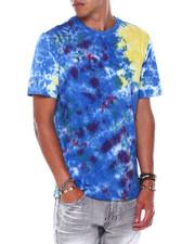 Preme - Blue Tie Dye Logo Tee-2394106