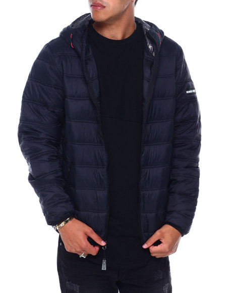 Members Only - QUILTED PACKABLE ZIP JACKET