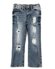 Buffalo - 5 Pkt Denim Evan Slim Straight Fit Jeans (4-7)-2393123