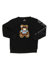 Sweatshirts & Sweaters - Fleece Crew Neck W/ Chenille Patch (4-7)-2393085