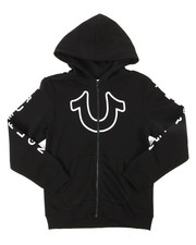 True Religion - TR Horseshoe Outline Hoodie (8-20)-2393913