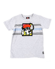 Arcade Styles - Chenille Patch Tee (4-7)-2393110