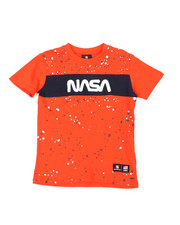 Southpole - Southpole x NASA Chenille Patch Paint Splatter Tee (4-7)-2393863