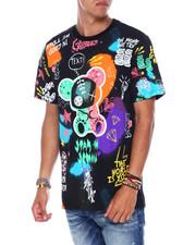 Shirts - All Over Doodle Bear Tee-2394467