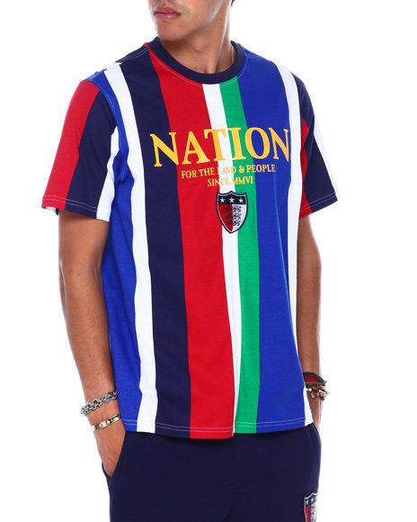 Parish - NATION STRIPE TEE