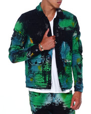 Preme - Green Fiji Denim Jacket-2394449