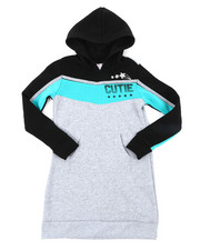 Dresses - Athleisure Sweatshirt Dress (7-16)-2394282