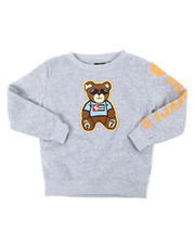 Sweatshirts & Sweaters - Fleece Crewneck W/ Chenille Patch (4-7)-2393095