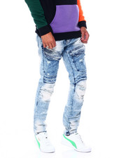Jeans - MOTO FOLD DETAIL JEAN-2395101