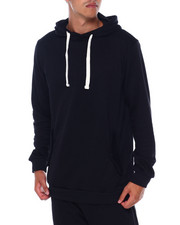 American Stitch - Button Fleece Hoodie-2394657