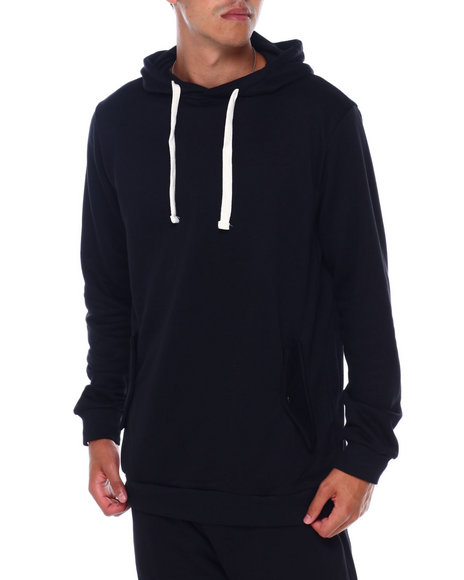 American Stitch - Button Fleece Hoodie