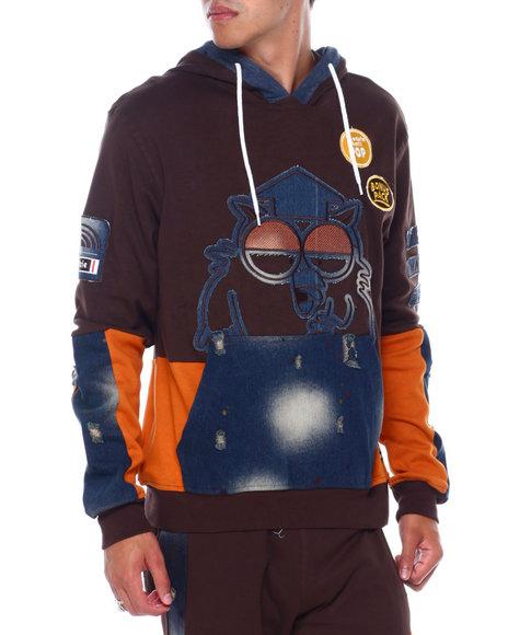 Southpole - DENIM OWL POP HOODIE