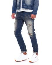 Jeans - RIPPED JEAN W FLANNEL REPAIR JEAN-2394838