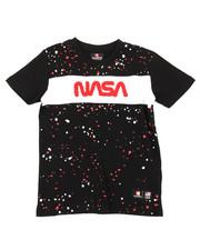 Southpole - Southpole x NASA Chenille Patch Paint Splatter Tee (4-7)-2393868