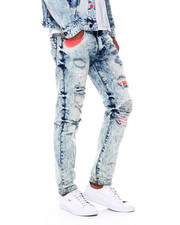 Jeans - Neon distressed jean-2395044
