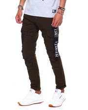 Black Friday Deals - CARGO PANT W TAPE DETAIL-2395063