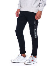 Athleisure for Men - CARGO PANT W TAPE DETAIL-2395081