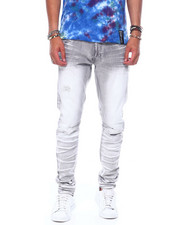 SMOKE RISE - Distressed Jean-2395008