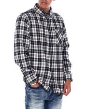 Mens-Fall - Plaid Woven Shirt-2394688