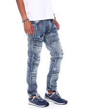 Jeans - Silicone Ripple Knee Jean-2392740