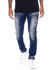 Jeans - Stretch Distressed Moto Jean-2395775