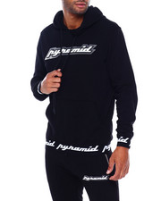 Athleisure for Men - 3D RUBBER PATCH HOODIE-2395625
