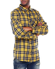 SMOKE RISE - Plaid Woven Shirt-2395664