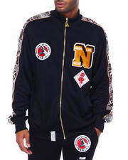 Track Jackets - Onuma Nagamo Snake Embroidered Jacket-2395491