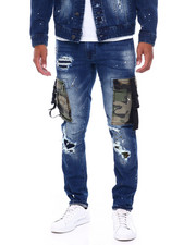 Mens-Fall - Camo Utility Pocket Jean-2395829