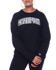Womens-Fall - Reverse Weave Crew-Block Champion Arch-2396805