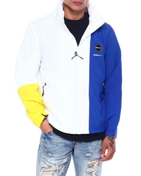 Sean John - Hoody Colorblock Nylon Jacket