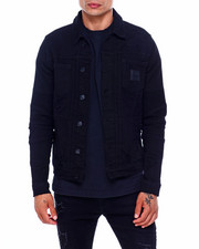 Mens-Fall - Moto Denim Jacket-2396652