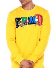 Sweatshirts & Sweaters - COLLAGE TYPE CREWNECK SWEATSHIRT-2397105