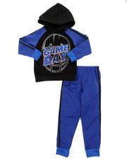 Sets - 2Pc Fleece Hoodie & Pants Set (4-7)-2396671