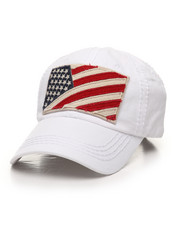 Hats - USA Flag Dad Hat-2395556
