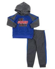 Arcade Styles - 2pc Fleece Hoodie Set (2T-4T)-2396521