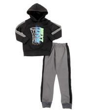 Sets - 2Pc Fleece Hoodie & Pants Set (4-7)-2396548