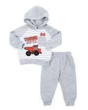 Infant & Newborn - Appliqued Fleece Set (Infant)-2396048