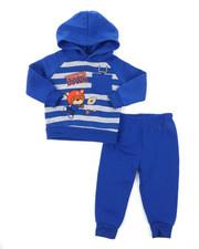 Infant & Newborn - Appliqued Fleece Set (Infant)-2396035