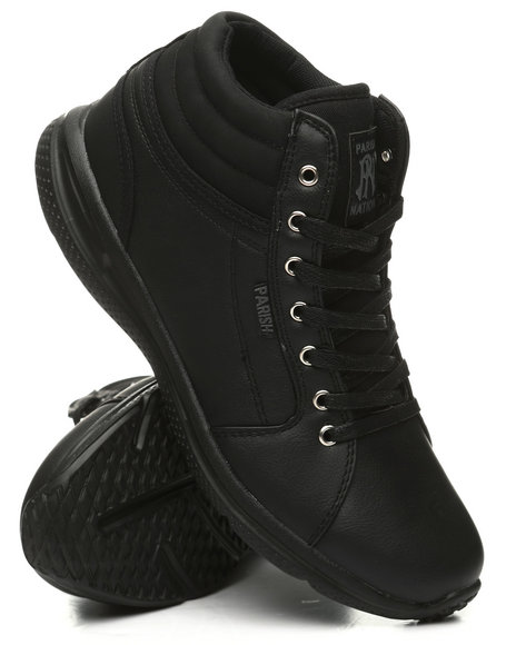Parish - Lace-Up Mid Sneakers