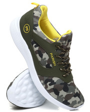 Parish - Camo Lace-Up Sneakers-2396919