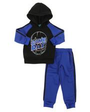 Arcade Styles - 2Pc Fleece Hoodie & Pants Set (2T-4T)-2396667
