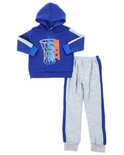 Sets - 2Pc Fleece Hoodie & Pants Set (4-7)-2396663