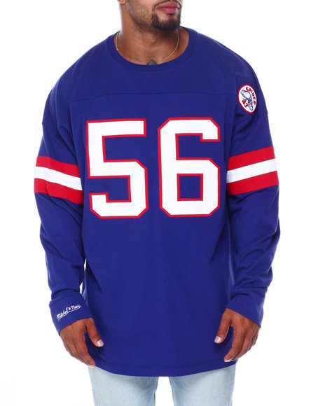 Mitchell & Ness - Giants Taylor L/S Heavy Jersey (B&T)
