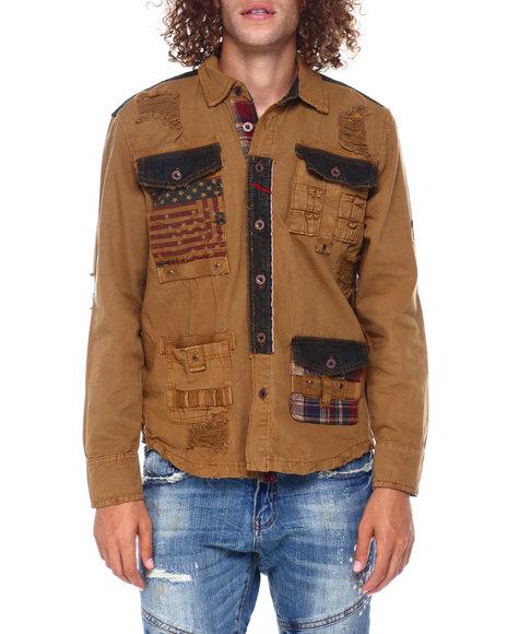 Heritage America - Americana Path Ls Woven Shirt