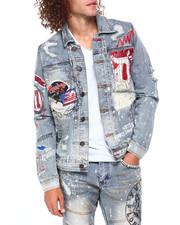 Heritage America - Varsity Mascot Denim Jacket-2397468